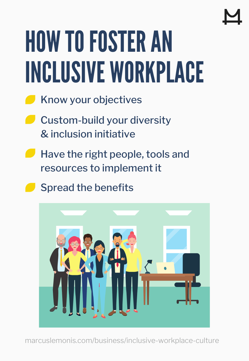 how to foster an inclusive workplace culture