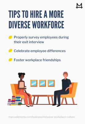 hiring tips for a diverse workplace workforce