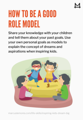 Explanation on how to be a good role model.
