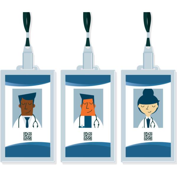Image of three ID cards