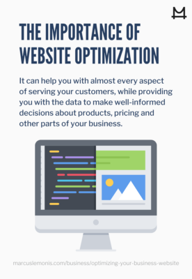 Reasons why website optimization is important.
