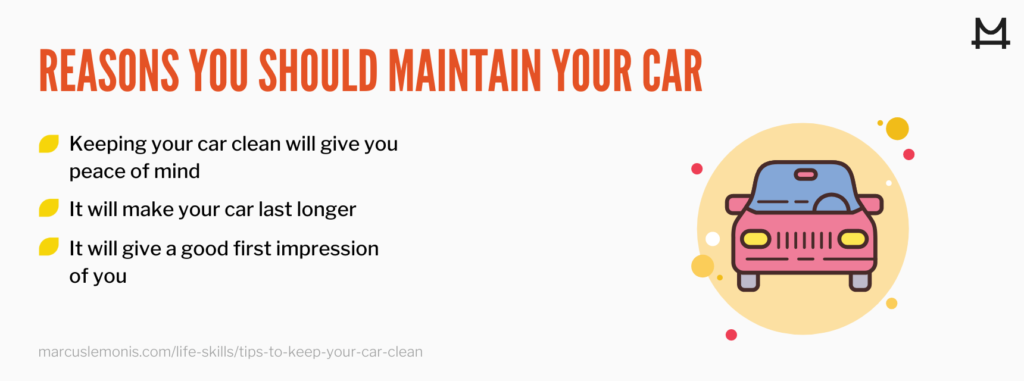List of reasons why you should maintain your car