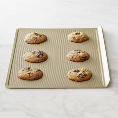 Williams Sonoma Goldtouch® Corrugated Nonstick Cookie Sheet