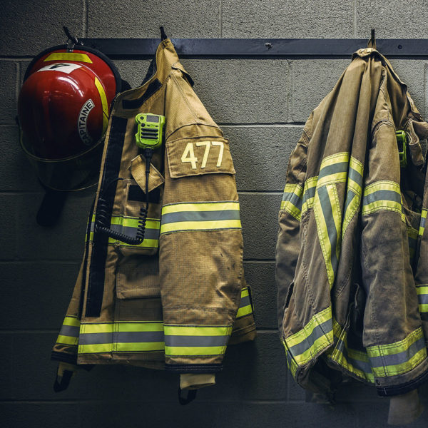 Image of firefighter gear
