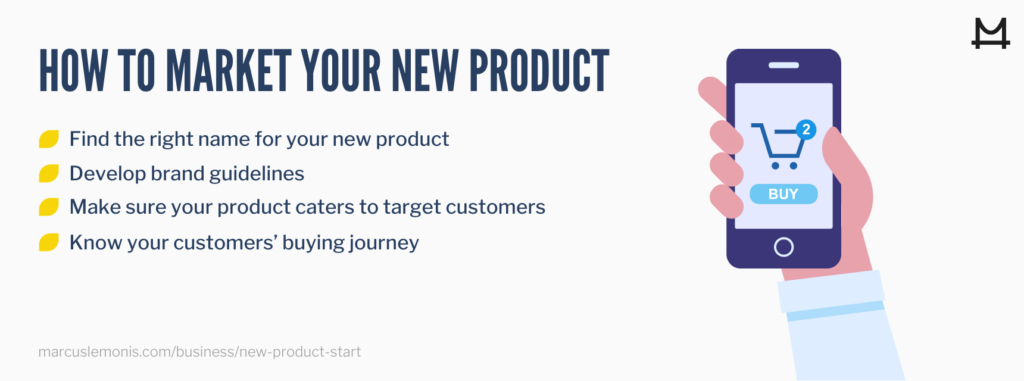 how to start a new product