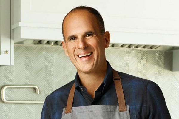 Marcus Lemonis in the kitchen
