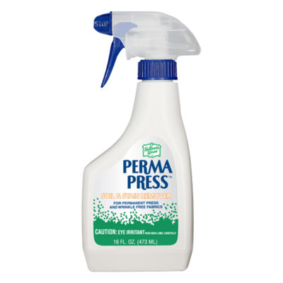 Perma Press stain removal