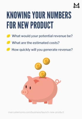 know your numbers before launching a new product