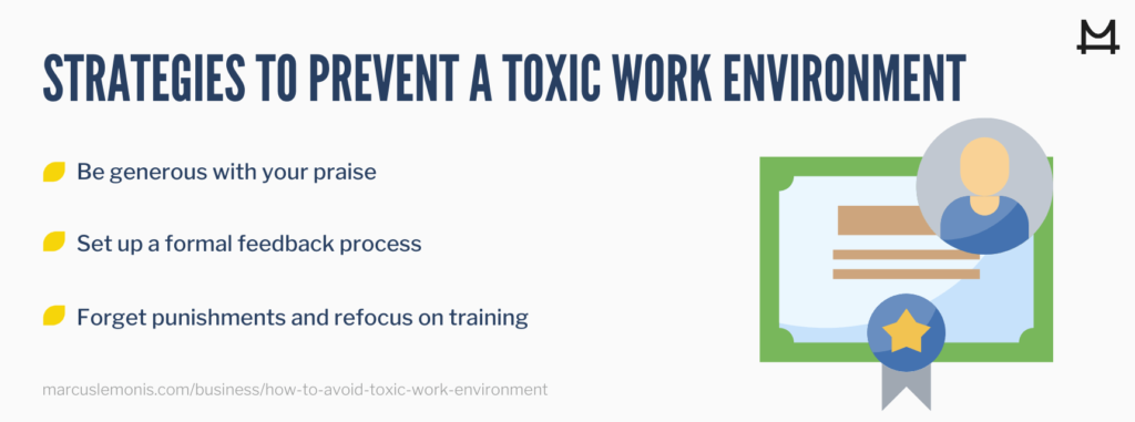 image of strategies to prevent a toxic work environment