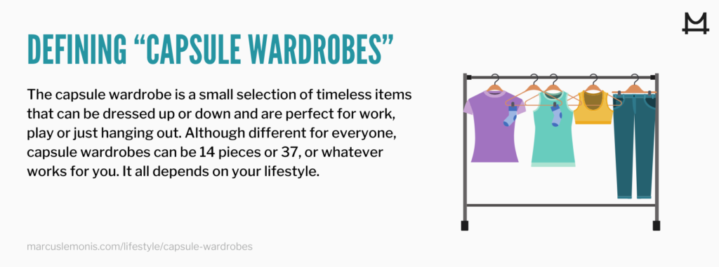 Definition of a capsule wardrobe
