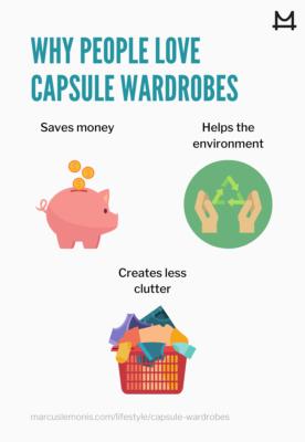 List of reasons why people love capsule wardrobes