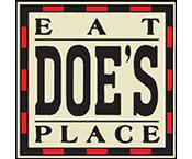 Doe's Eat Place logo