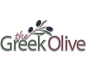 the greek olive logo