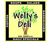 Welty's Deli logo